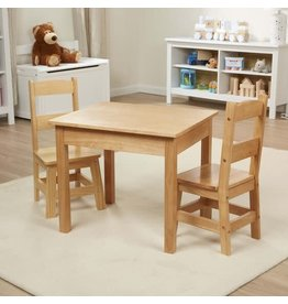 Melissa & Doug Wooden Table & Chairs Set - Melissa & Doug