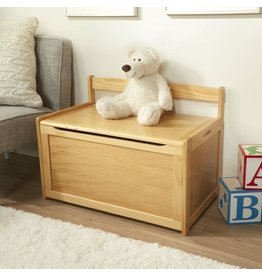 Melissa & Doug Wooden Toy Chest - Honey
