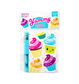 Yummy Sketch & Sniff Note Pads Cupcake