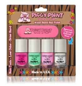 Piggy Paint Piggy Paint 3 colors basecoat and Nail File