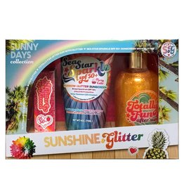 Sunshine & Glitter Sunny Days Collection 3 Piece Gift Set
