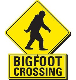 Bigfoot Crossing Funky Chunky Magnet