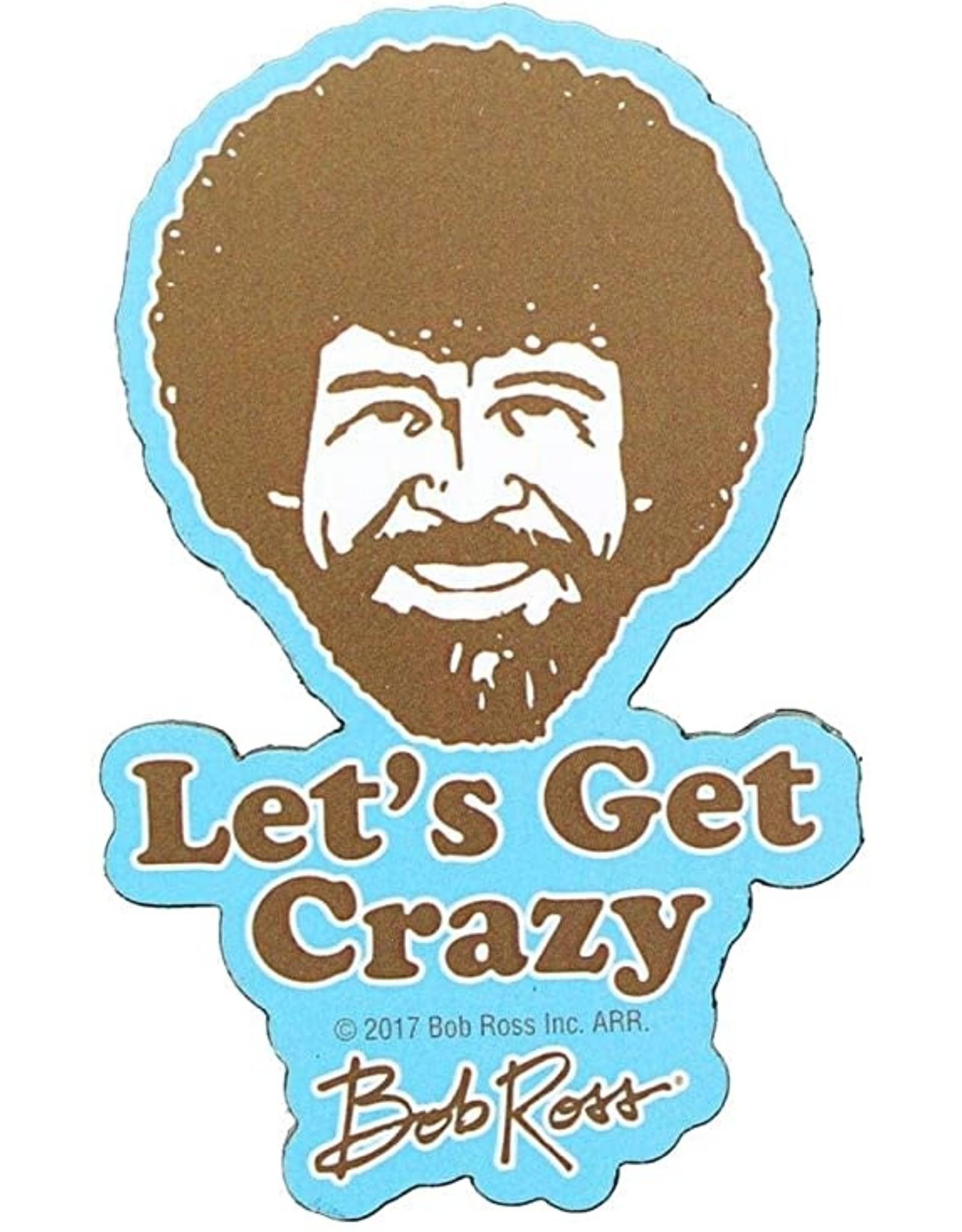 Bob Ross Crazy Funky Chunky Magnet