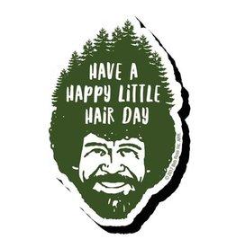 Bob Ross Hair Funky Chunky Magnet