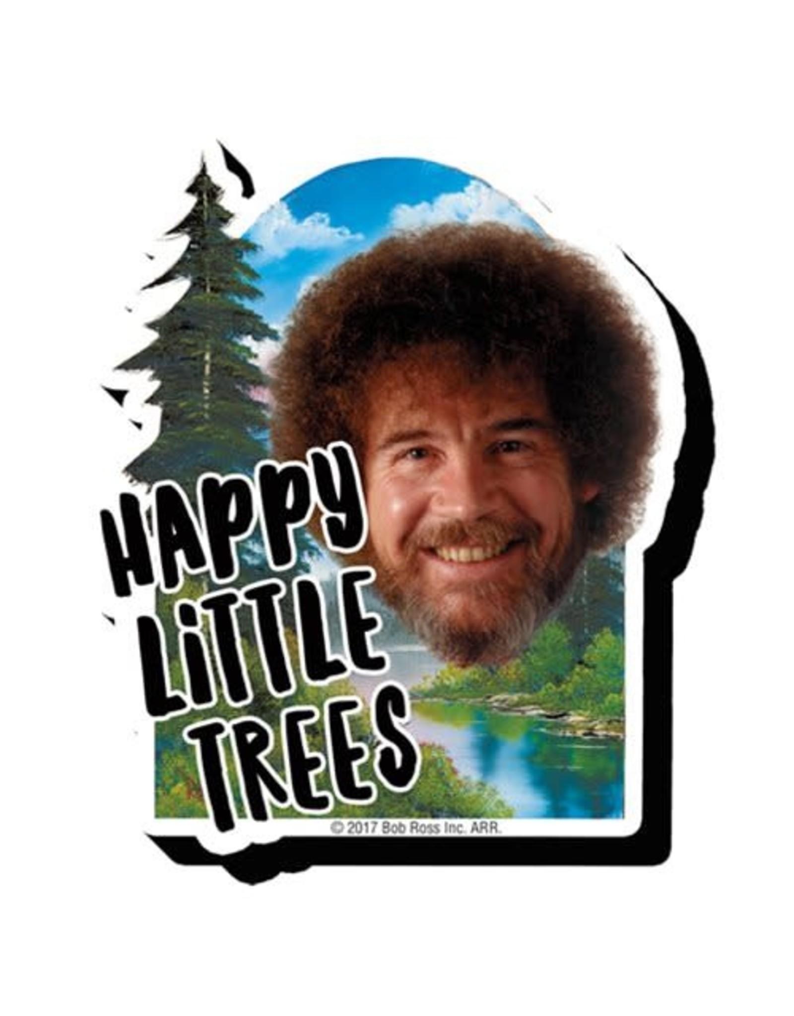 Bob Ross Trees Funky Chunky Magnet