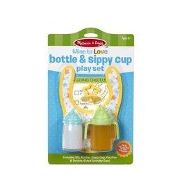 Melissa & Doug Bottle & Sippy Cup Play Set
