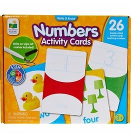 Write & Erase Activity Cards - Numbers