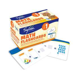Sylvan First Grade Math Flash Cards