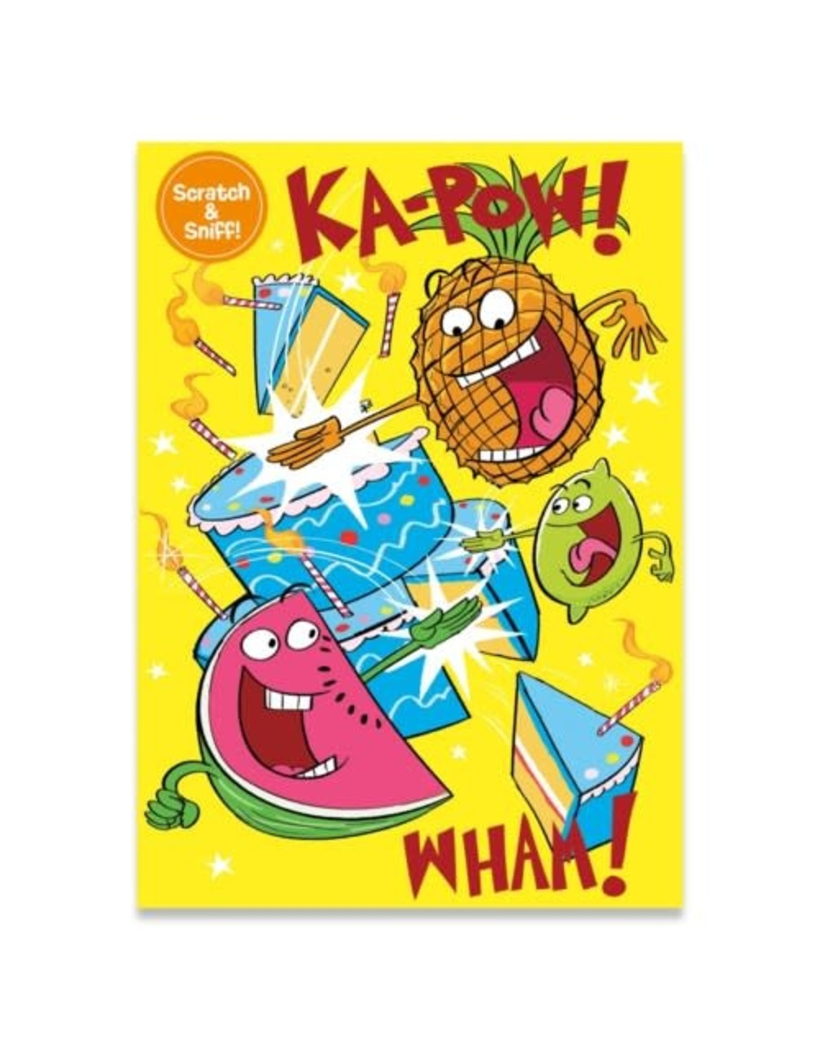 Peaceable Kingdom Fruit Punch Scratch and Sniff Card