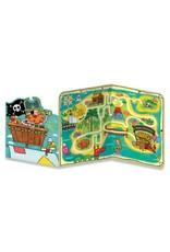 Peaceable Kingdom Pirate Treasure Tri-Fold Card