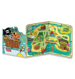 Peaceable Kingdom Pirate Treasure Tri-Fold Card