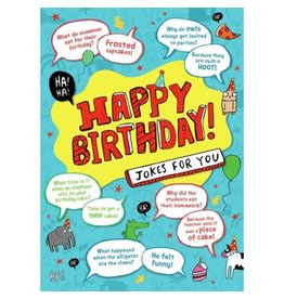 Peaceable Kingdom Jokes Foil Card