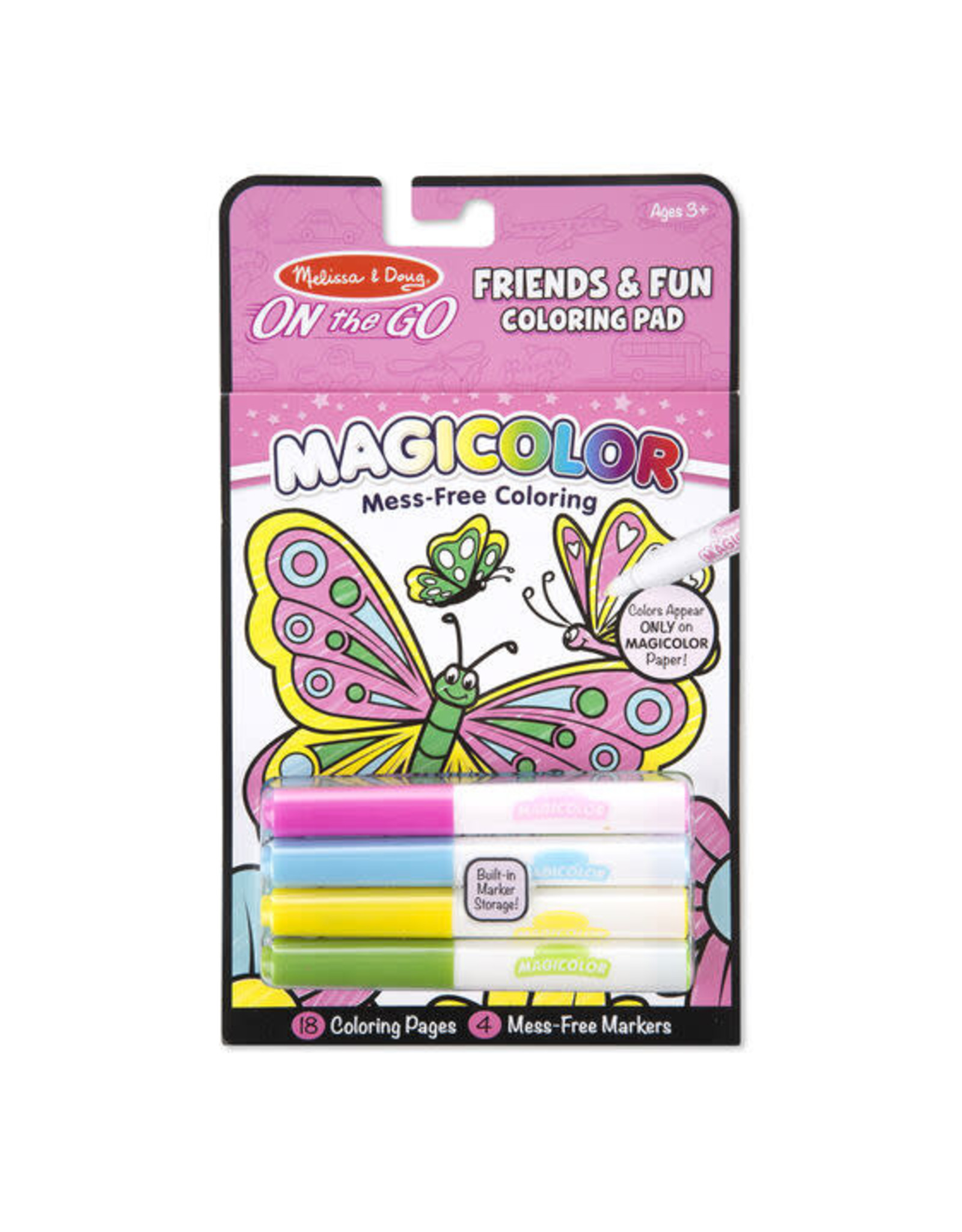 Melissa & Doug Magicolour Colouring Pad - Friendshiip