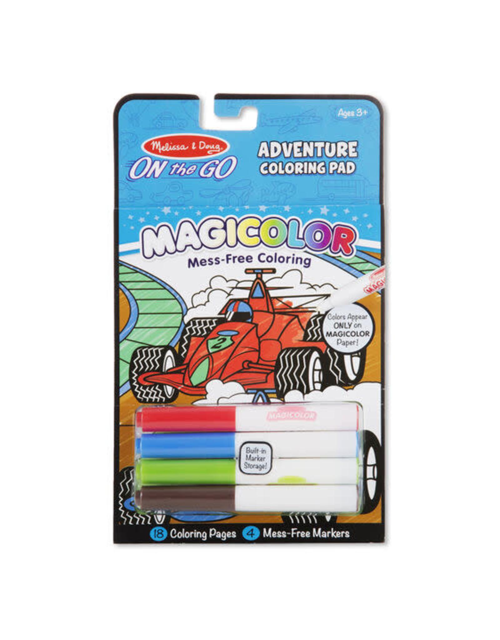 Melissa & Doug Magicolour Colouring Pad - Games and Adventures