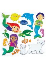 Creativity For Kids Sensory Sticker Playset Magical Undersea