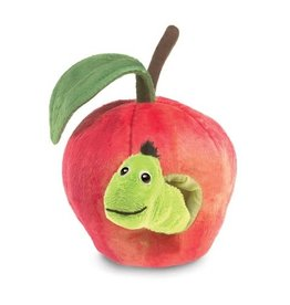 Folkmanis Worm in Apple Puppet