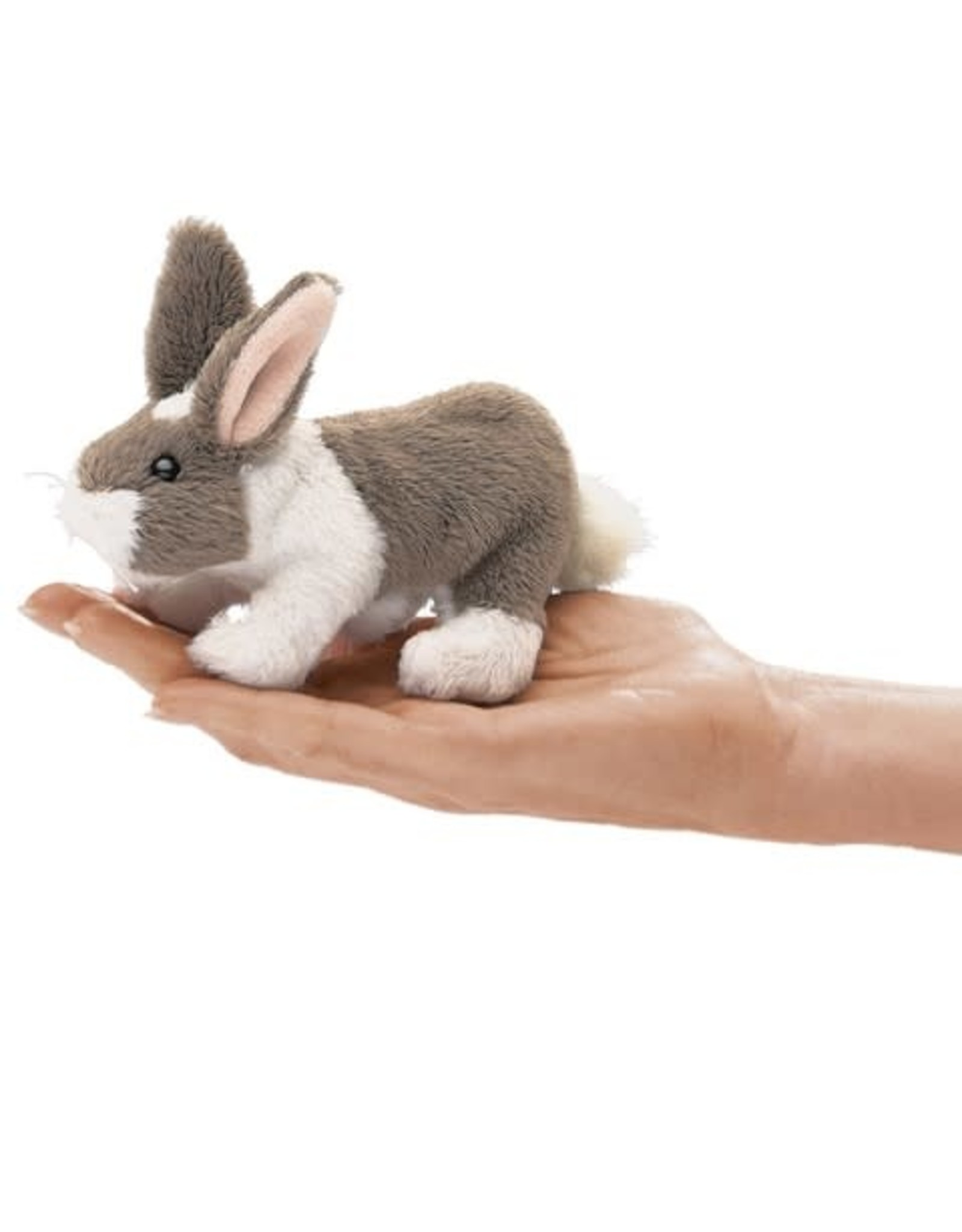Folkmanis Folkmanis Mini Bunny Rabbit Finger Puppet