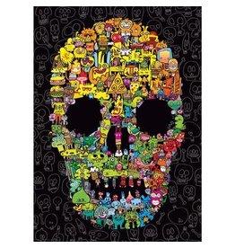 Heye Doodle Skull