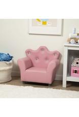 Melissa & Doug Child's Armchair - Pink Faux Leather