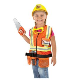 Melissa & Doug Construction Worker Role Play Set - Melissa & Doug