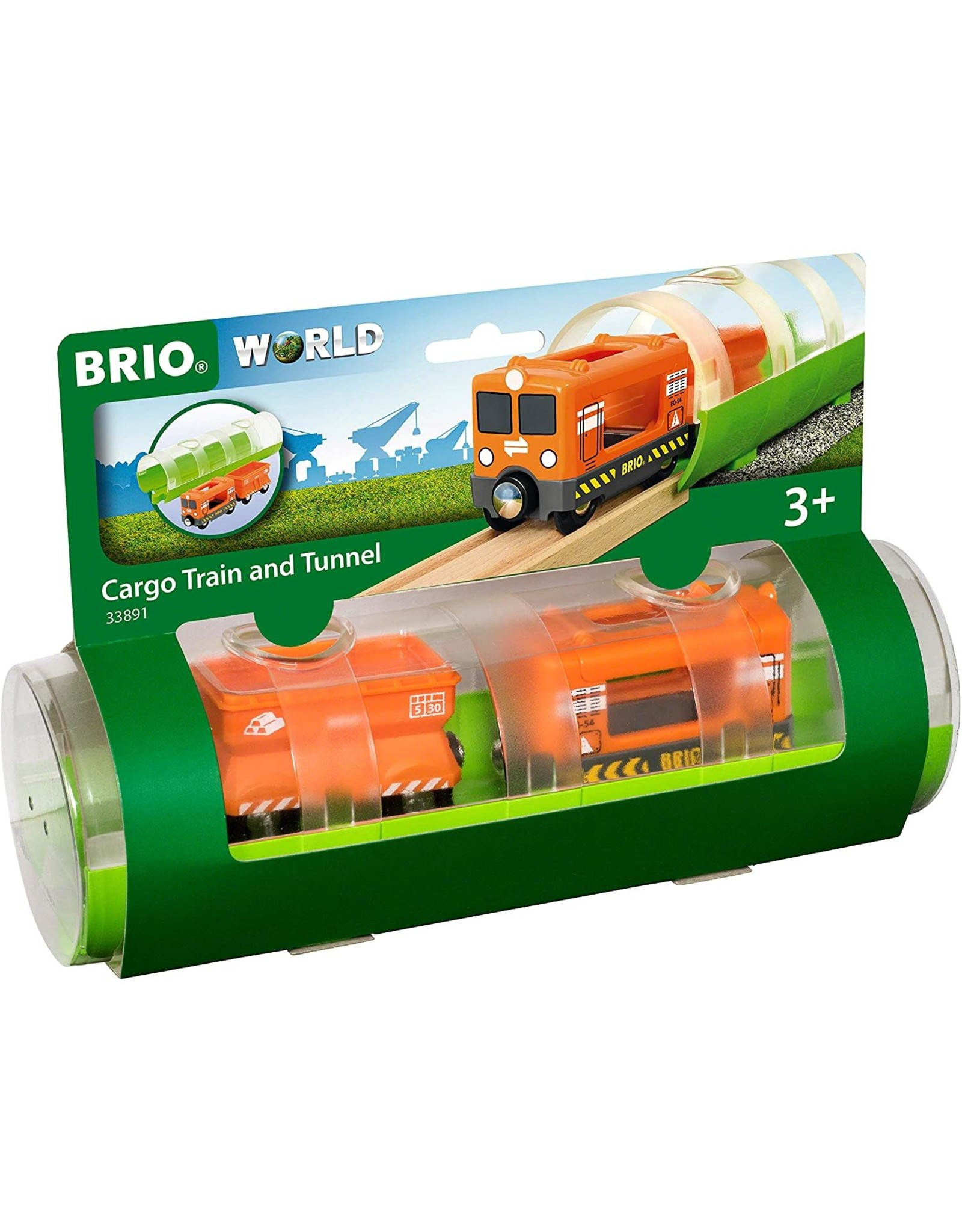 Brio BRIO Cargo Train and Tunnel