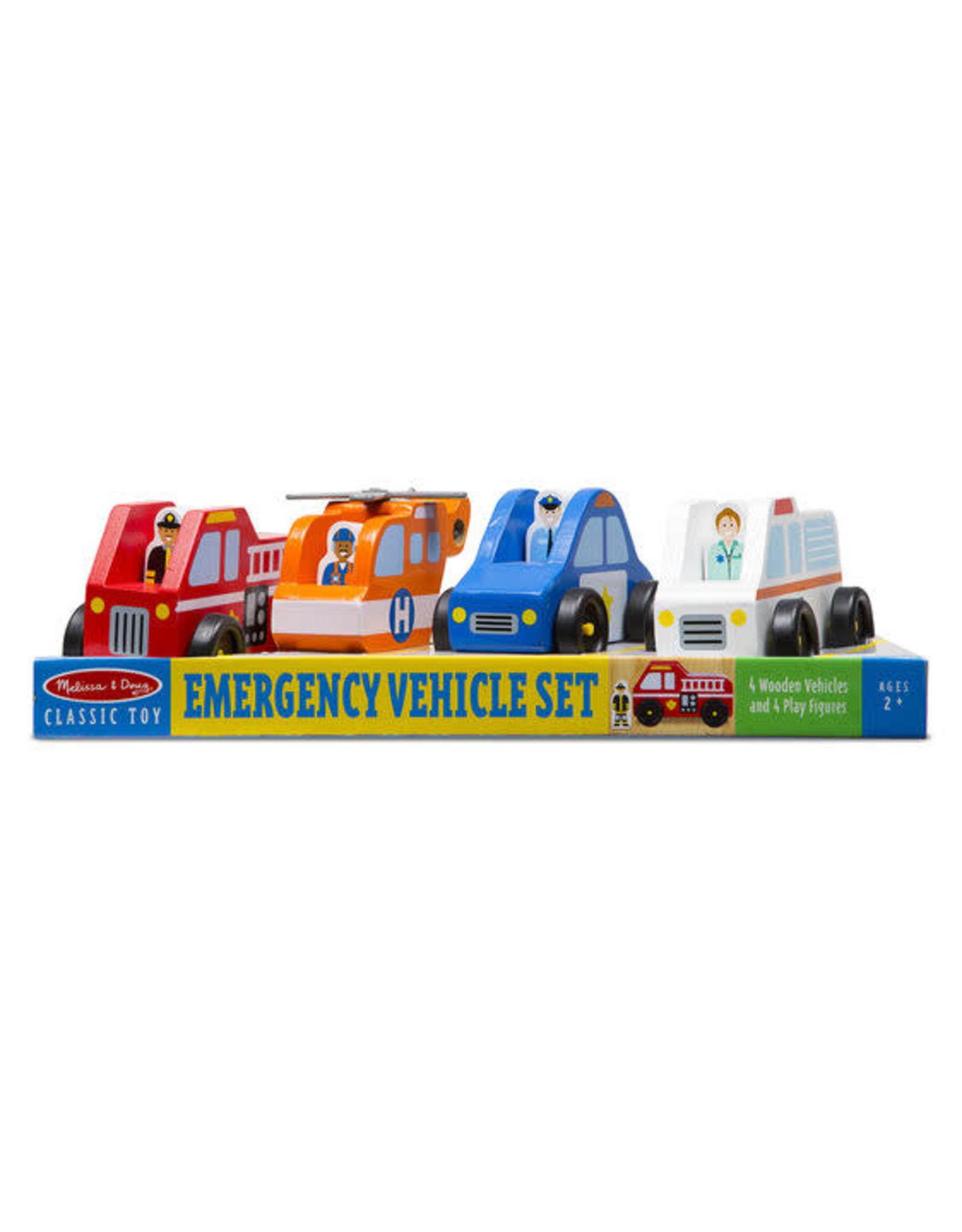 Melissa & Doug Melissa & Doug: Emergency Vehicle Set
