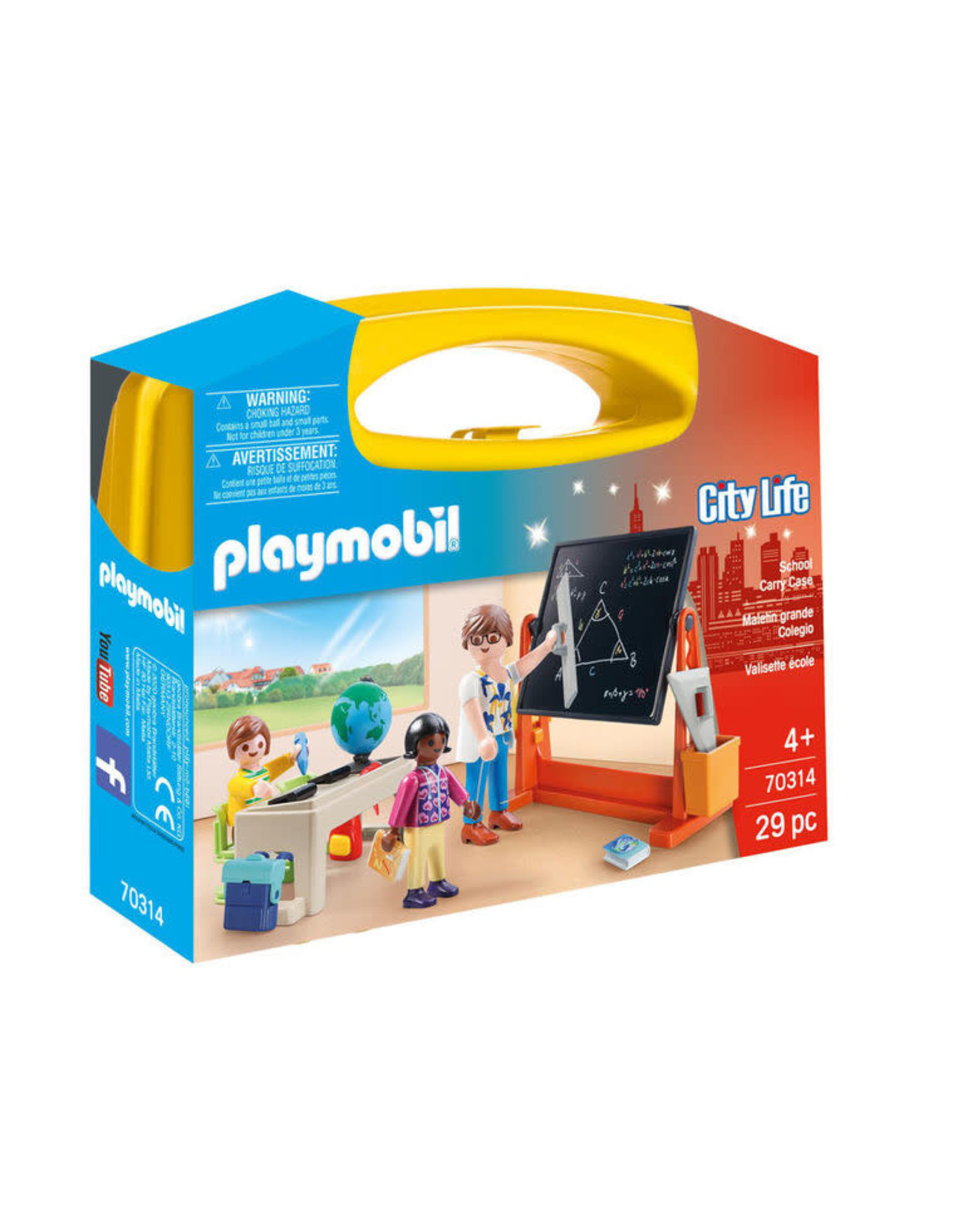 Playmobil School Carry Case Large