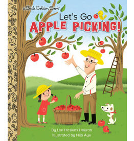 Little Golden Books Let's Go Apple Picking - LGB