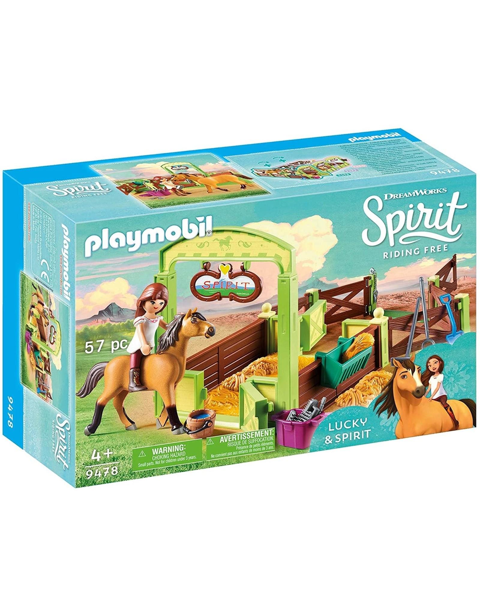 Playmobil Lucky & Spirit