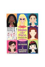 Melissa & Doug Make a Face Sticker Pad