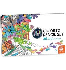Mindware Mindware Color By Number Pencils (Set of 36)