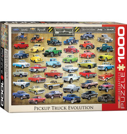 Eurographics Pick Up Truck Evolution 1000 pc puzzle