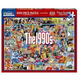 White Mountain Puzzles The Nineties 1000 pc