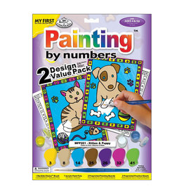 Royal & Langnickel Paint By Numbers Kitten & Puppy