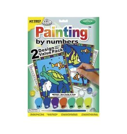 Royal & Langnickel Paint by Numbers Sea Turtle & Fish
