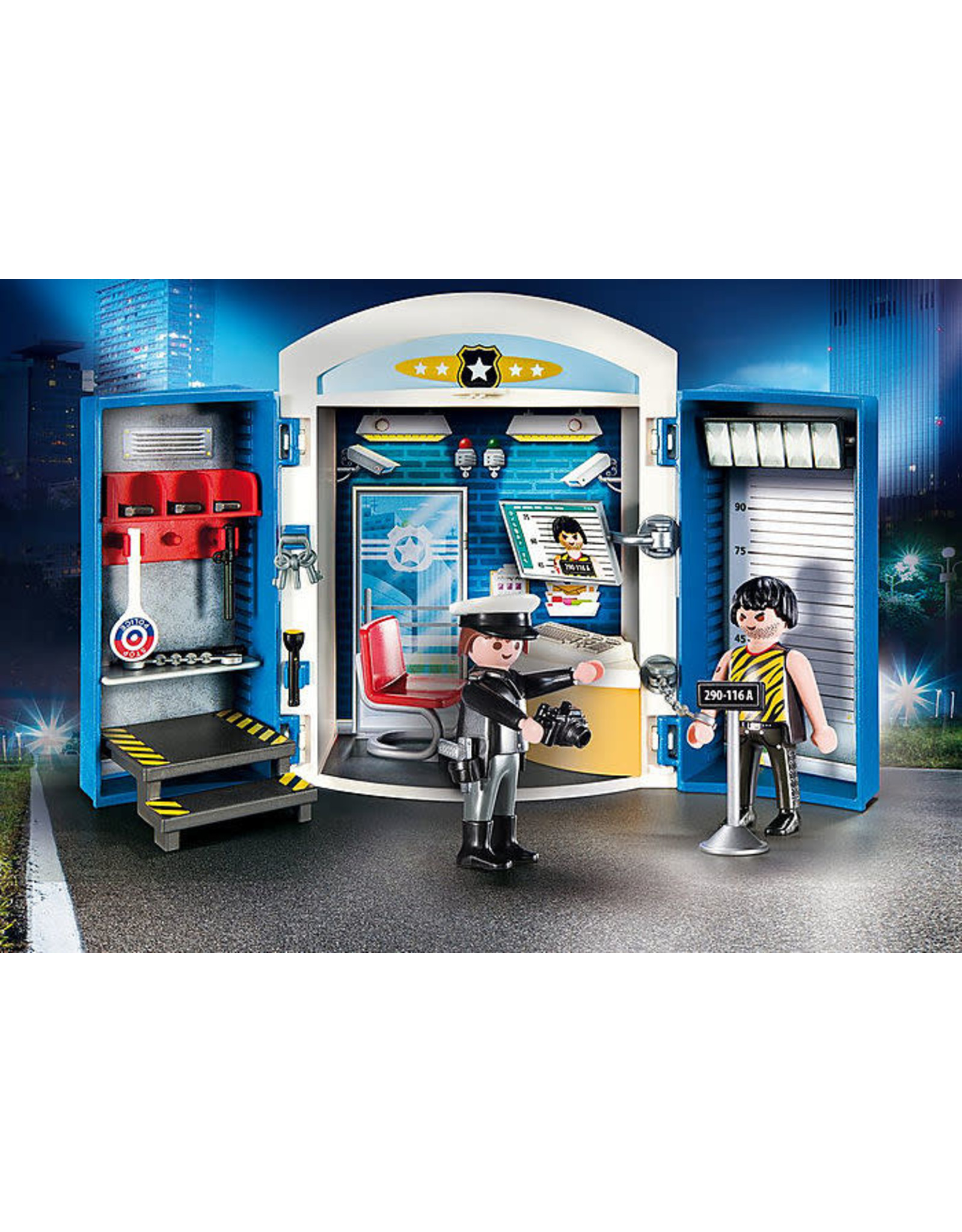 Playmobil Police Station Play Box
