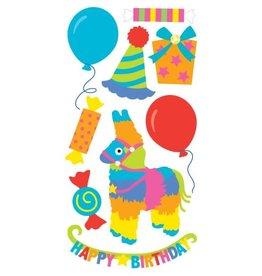 Birthday Pinata Essentials Stickers