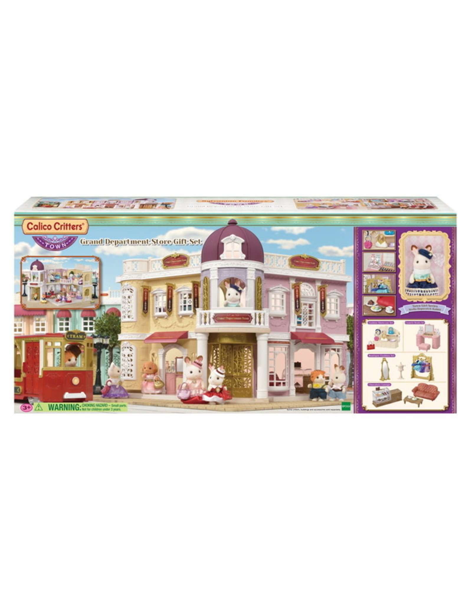 Calico Critters BL Grand Department Store Gift Set Calico Critters