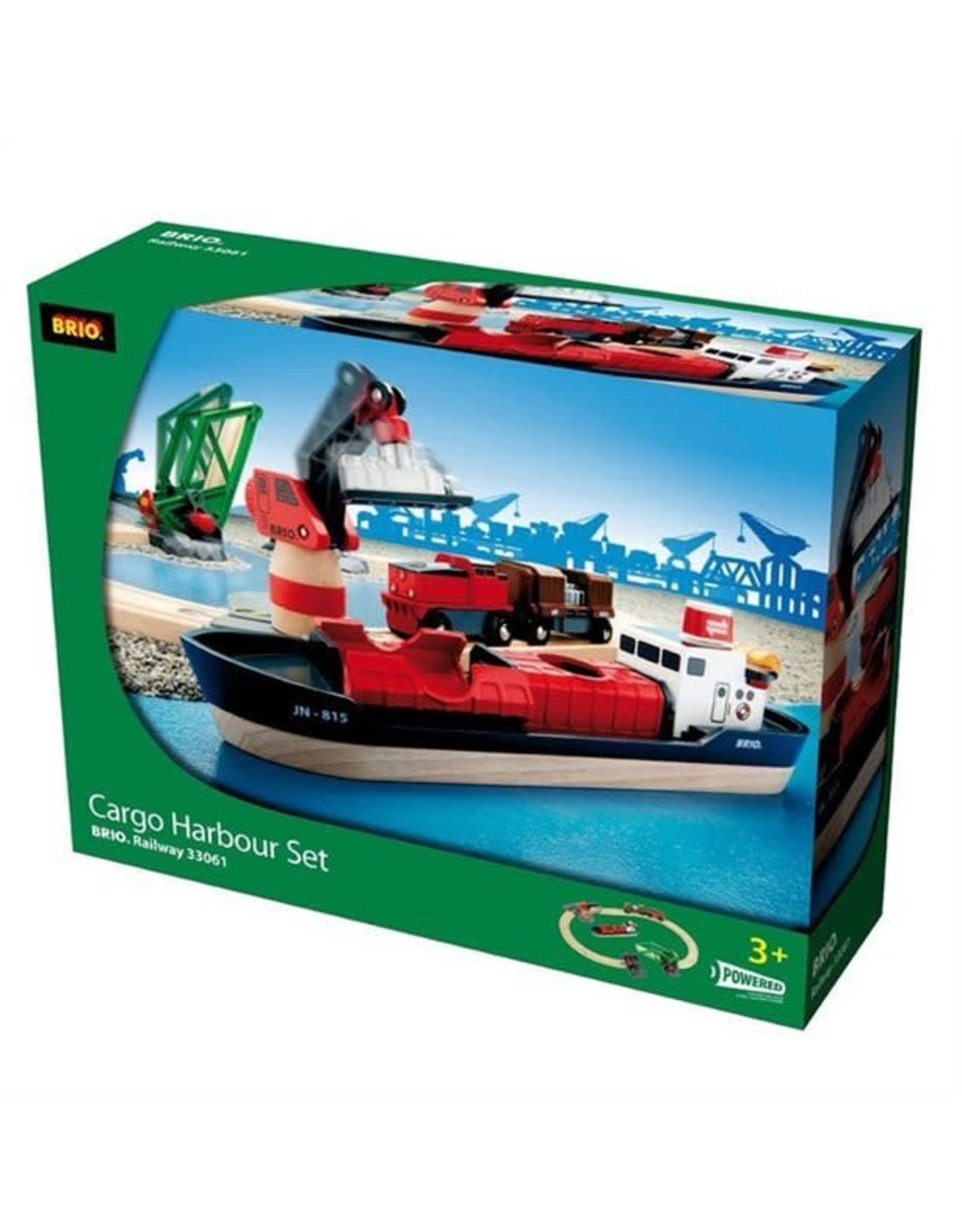 Brio BRIO Cargo Harbour Set