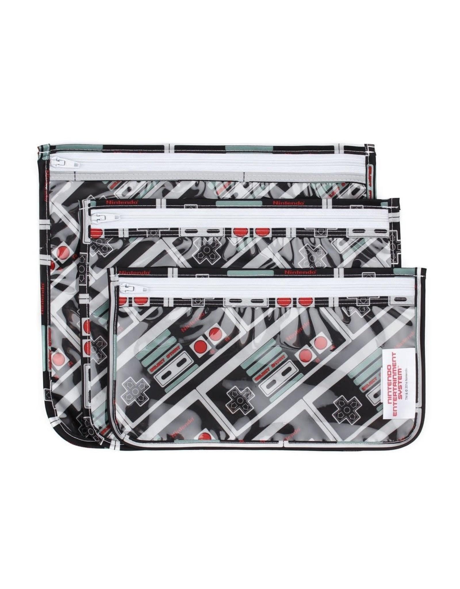 Bumkins Nintendo Clear Travel Bag