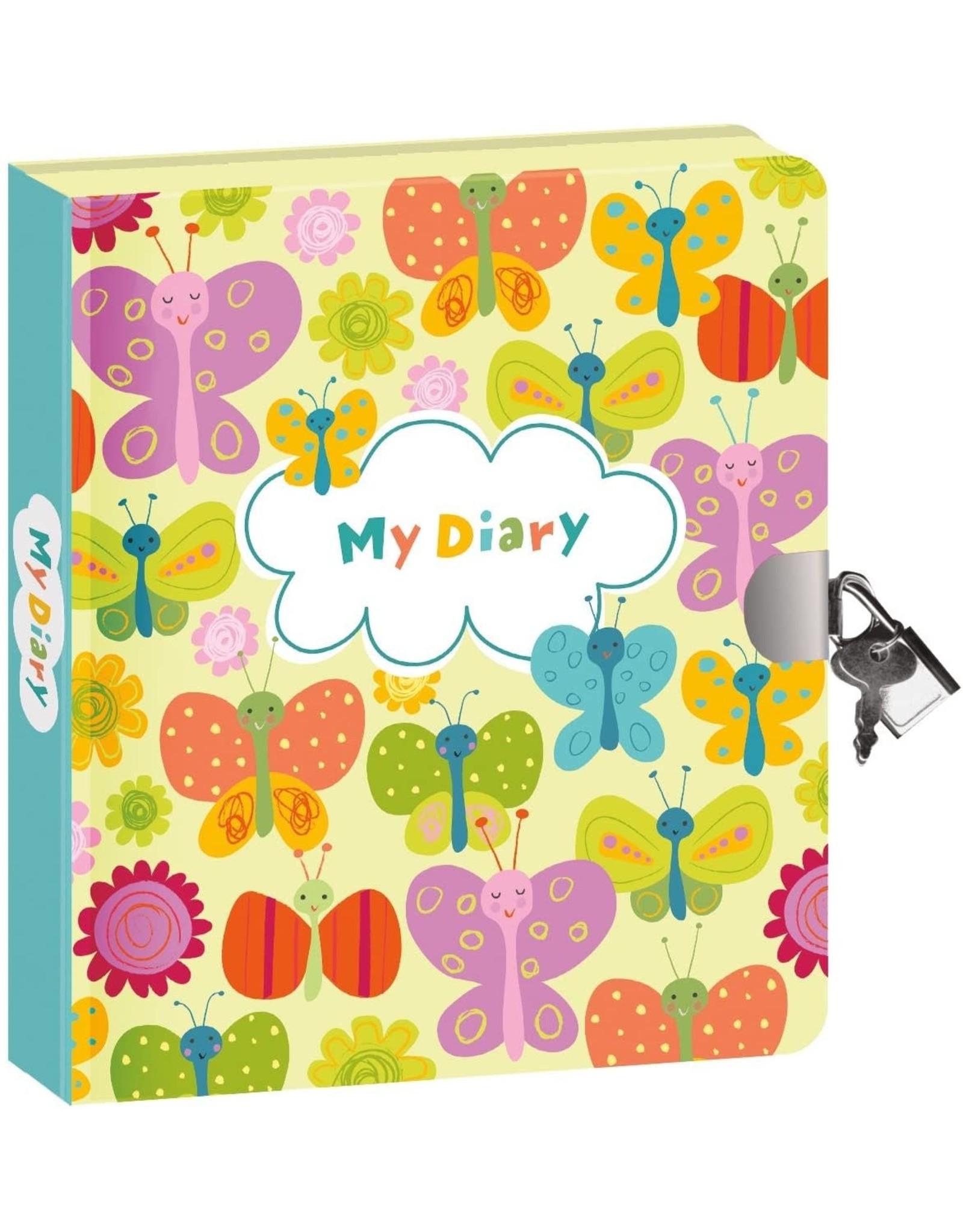 Peaceable Kingdom Butterflies - Glow in the Dark Diary