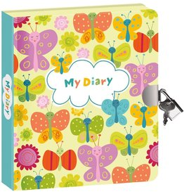 Peaceable Kingdom Butterflies - Glow in the Dark Diary