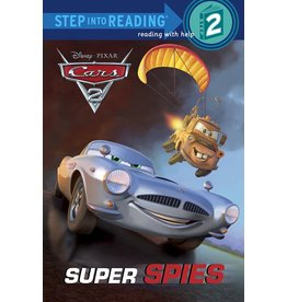 Step Into Reading Cars Super Spies S2