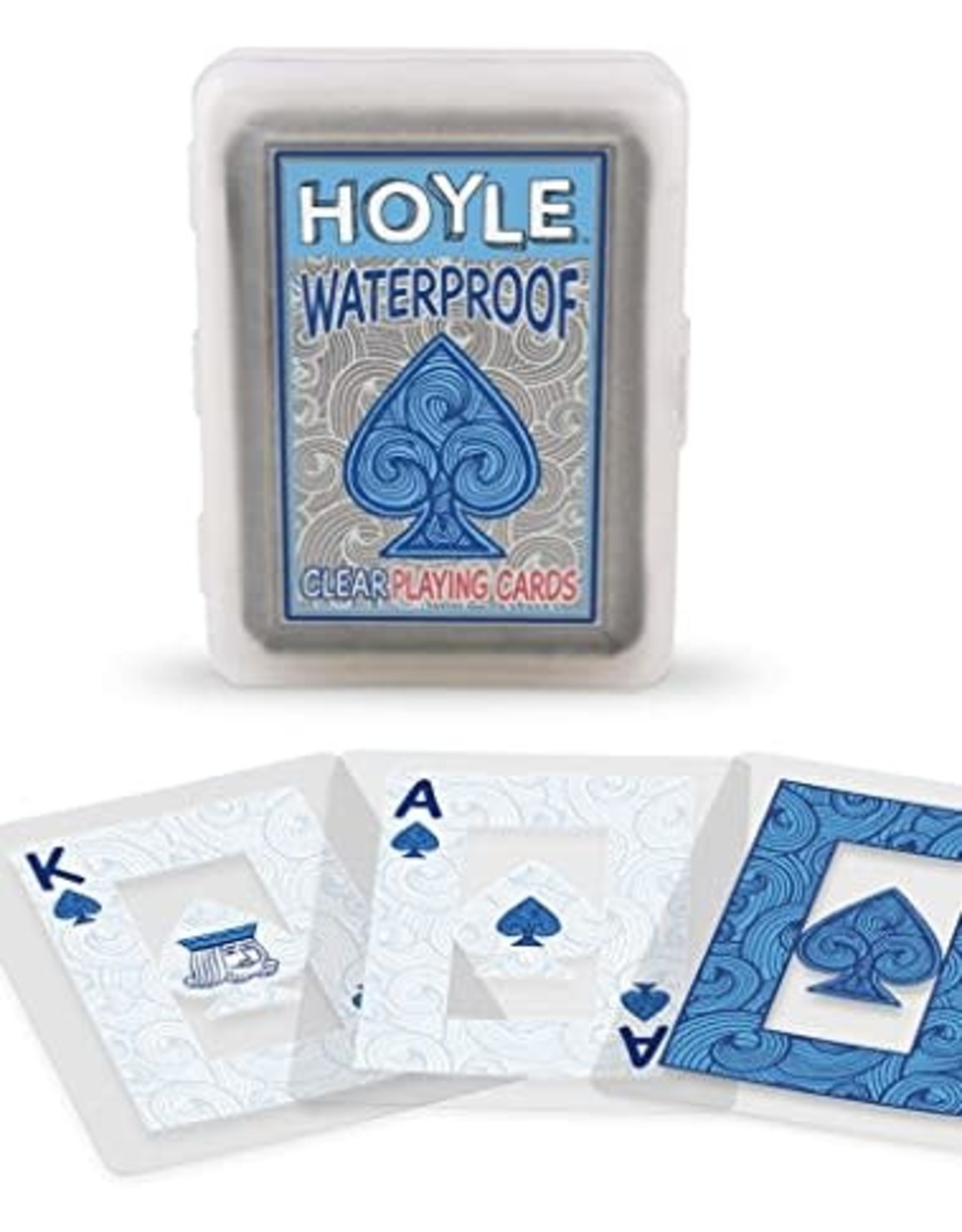 Hoyle Clear Waterproof Playing Cards