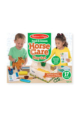 Melissa & Doug Melissa & Doug: Feed & Groom Horse Care Play Set