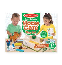 Melissa & Doug Melissa & Doug: Feed & Groom Horse Care Play Set
