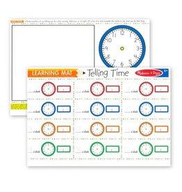 Melissa & Doug Melissa & Doug: Learning Mat Telling Time