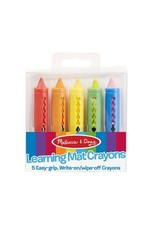 Melissa & Doug Melissa & Doug: Learning Mat Crayons