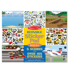 Melissa & Doug Melissa & Doug Reusable Sticker Pad Vehicles