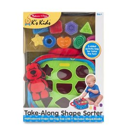Melissa & Doug Melissa & Doug: Take-Along Shape Sorter